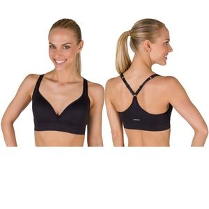 Jockey black sports bra NWOT